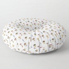 Gentle Mushrooms Floor Pillow