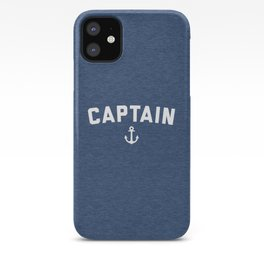Captain Nautical Quote iPhone Case