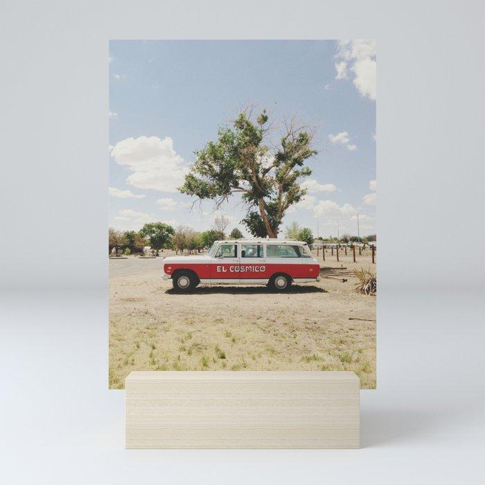 The El Cosmico Mini Art Print