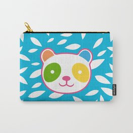 Rainbow Panda Carry-All Pouch