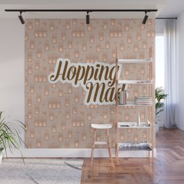 Hopping Mad Wall Mural