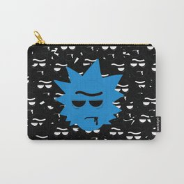 Rick Morty Black Many Carry-All Pouch