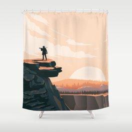 Longmire: Out West Shower Curtain