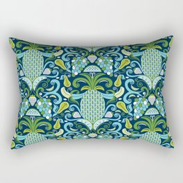 Ambrosia Blue Rectangular Pillow