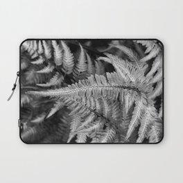 Fern Black & White Laptop Sleeve