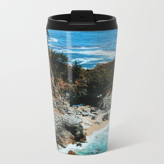 Paradise beach 4 Metal Travel Mug
