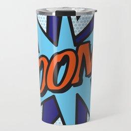 Comic Book BOOM! Travel Mug