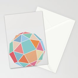 Polyhedron Stationery Cards