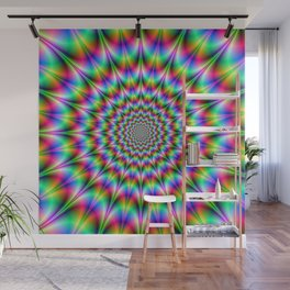 Psychedelic Explosion Wall Mural