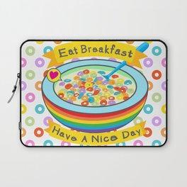 Eat Breakfast! Laptop Sleeve
