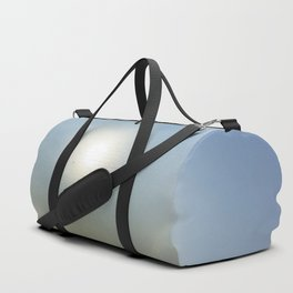 Plane in the Sun circle Duffle Bag