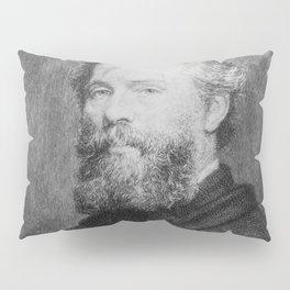 Joseph Oriel Eaton -portrait of Herman Melville Pillow Sham