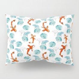 Waterlily koi Pillow Sham