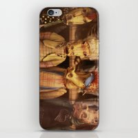 dragons iPhone & iPod Skins featuring DRAGONS by Logram