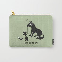 Must Be Monday, Horse Carry-All Pouch