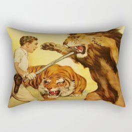 The Trained Wild Animal Rectangular Pillow