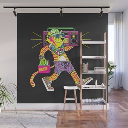 Party Animal Wall Mural
