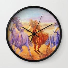 Free Spirits | Esprits Libres Wall Clock