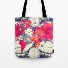 World map 10 Tote Bag