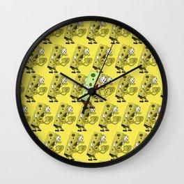 Angry Spongebob Wall Clock