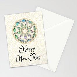 Happy Naw-Ruz - star Stationery Cards