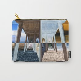 Quadrants of An Ocean Pier Carry-All Pouch