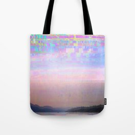 Displaced Tote Bag