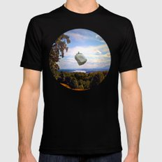 Mountain House Mens Fitted Tee MEDIUM Black