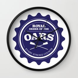 Royal Order of the Oars Wall Clock