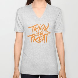 Trick or Treat Unisex V-Neck