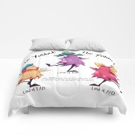 Dancing Yabbuts Comforters