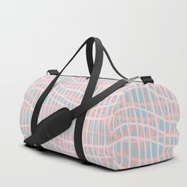 Net Blush Blue Duffle Bag