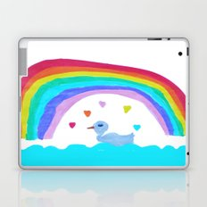RAiNBOW DUCK Laptop & iPad Skin