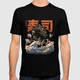 The Black Sushi Dragon T-shirt