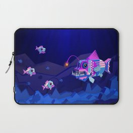 Anglerfish, lie and bioluminescence Laptop Sleeve