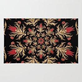 Turkish tulip - Ottoman tile 3 Rug