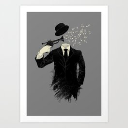 Blown Art Print