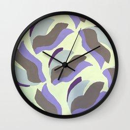 Wave Design 2 Wall Clock