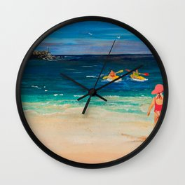 My Day out Wall Clock