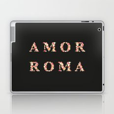 AMOR ROMA - Black Laptop & iPad Skin