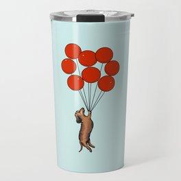 I Believe I Can Fly Dachshund Travel Mug