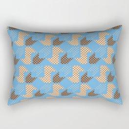 Clover&Nessie Cider/Mocha Rectangular Pillow