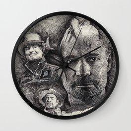 Gord Downie  Tribute Pen & Ink Drawing Wall Clock