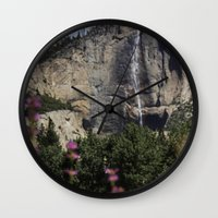 yosemite Wall Clocks featuring Yosemite! by Captivating Creations Art & Photography