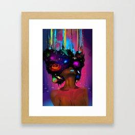 9 Ether Framed Art Print