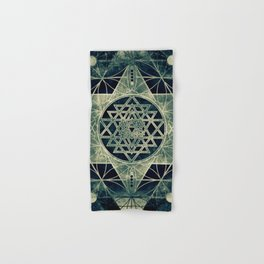 Sacred Geometry for your daily life- SRI YANTRA Hand & Bath Towel