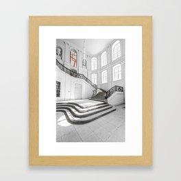 The White Interior Framed Art Print