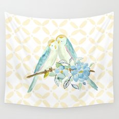 The love birds Wall Tapestry