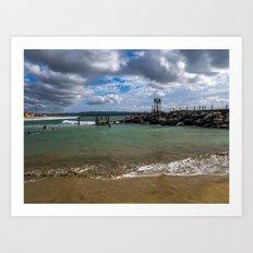 Aguadilla coast 2 Art Print