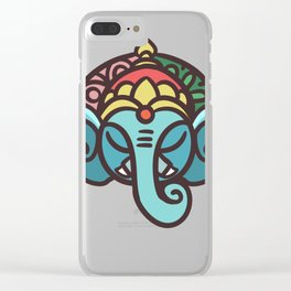Hinduism Sanatana Dharma Gift Religion Clear iPhone Case